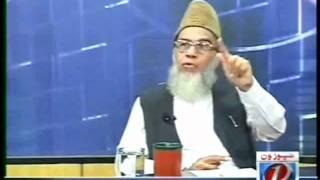 Syed Munawar Hasan on Imran Khan