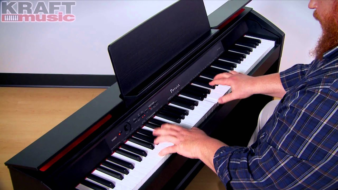 Kraft Music - Casio Privia PX-860 Digital Piano Demo with Adam Berzowski -  YouTube