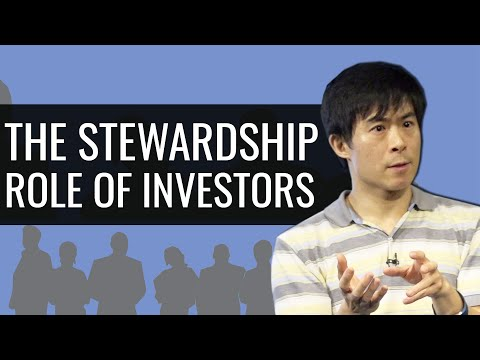 The Stewardship Role Of Investors
