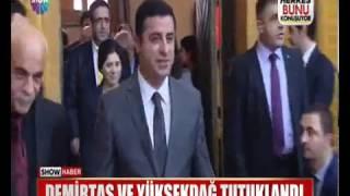 Demirtaş ve Figen Yüksekdağ Böyle Gözaltına Alındı