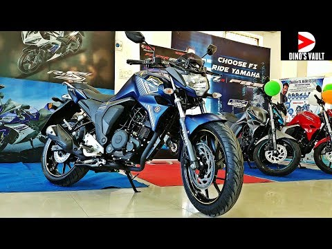2018 Yamaha FZS Fi V2.0 Rear Disc First Ride Review 4K #Bikes@Dinos