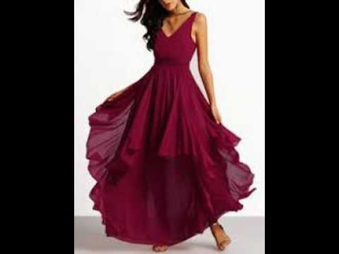 night party dress for girls - YouTube