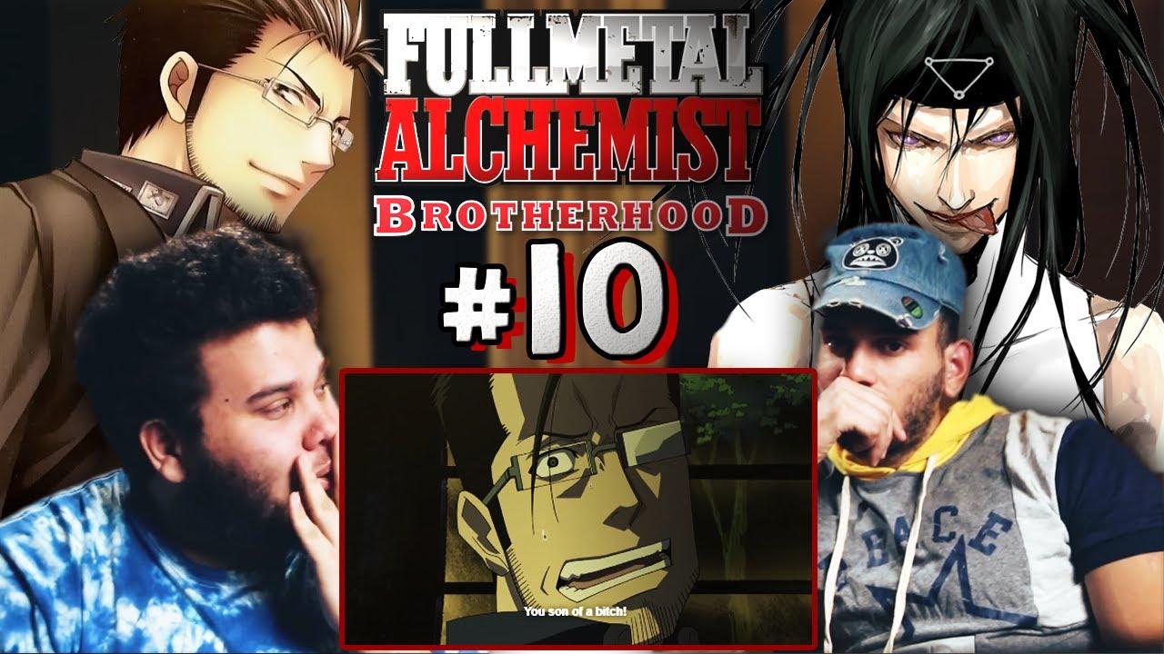 "REACTION | ""Fullmetal Alchemist: Brotherhood #10 (Dub)"" - RIP HUGHES! Conspiracy Intensifies ..."