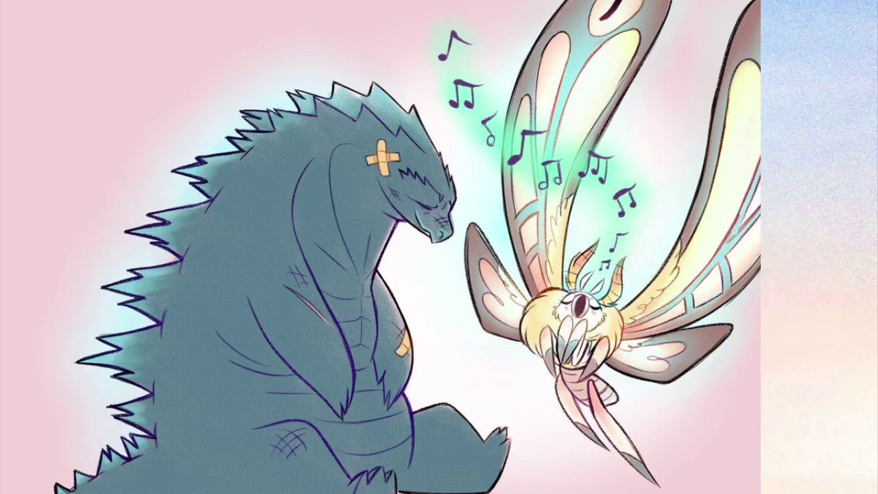 Godzilla x Mothra | King and Queen Forever for their hearts