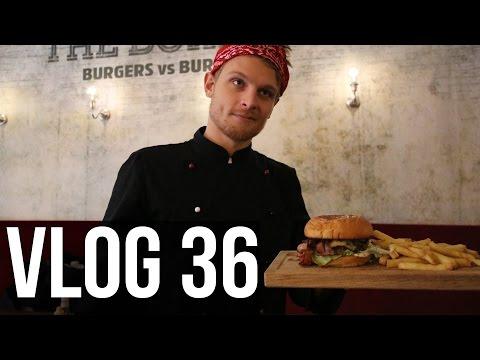 VI GÖR EGNA BURGARE - Vlog #36