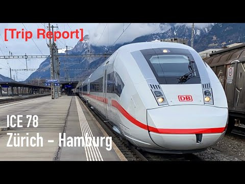 [Trip Report 04] ICE 78 Zürich - Hamburg (1. Klasse) | ICE 4 Mitfahrt | DB Fernverkehr | BR 412