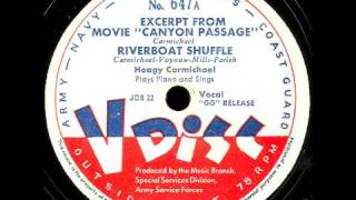 V-Disc 647  Hoagy Carmichael, Boyd Raeburn do intros