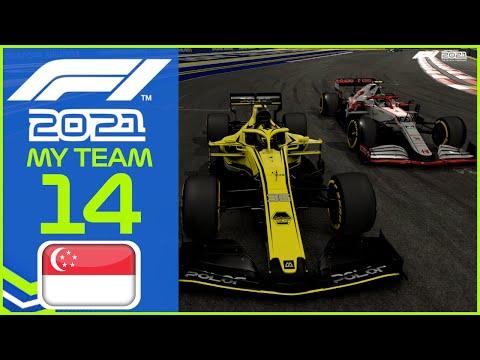 F1 2021 MyTeam KARRIERE #14: Kleiner Fehler, große Auswirkung!