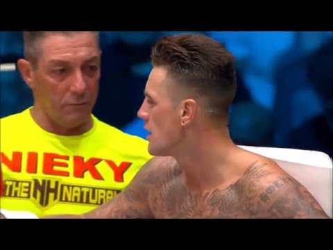 Nieky Holzken vs Murthel Groenhart Glory 26 Full Fight HD