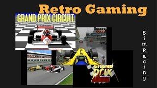 Grand Prix PC Game Evolution   Accolade GP1, Microprose GP 1,2,3 and Geoff C  GP 4