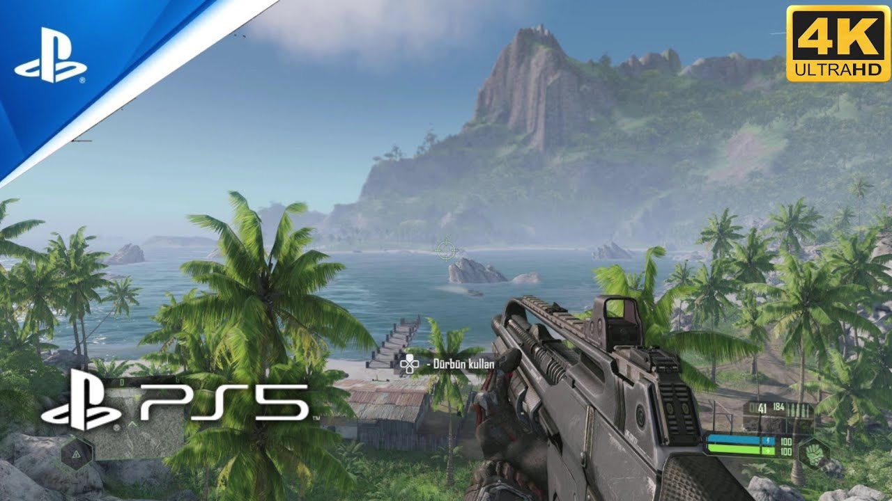Crysis Remastered   PS5 4K Gameplay - YouTube