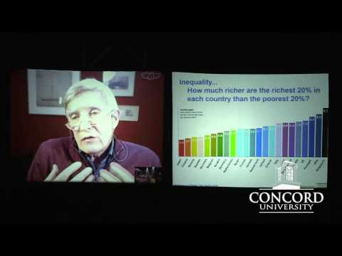 Richard Wilkinson: Is Inequality Killing Us? - at Concord University