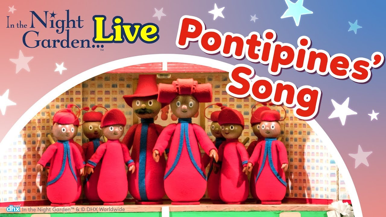 In The Night Garden Live The Pontipines Song Live Uk Theatre