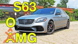 The 2018 Mercedes-AMG S63 is the ultimate, ultimate sedan