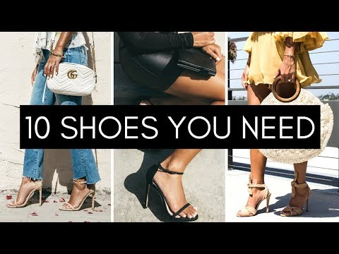 10 Shoes Every Girl Should Own