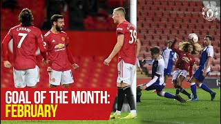 Goal of the Month: February | Fernandes, Rashford, Amad, McCann & More | Manchester United
