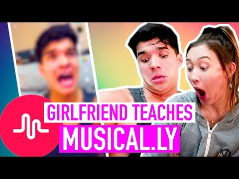 Girlfriend Teaches Me How To MUSICAL.LY!