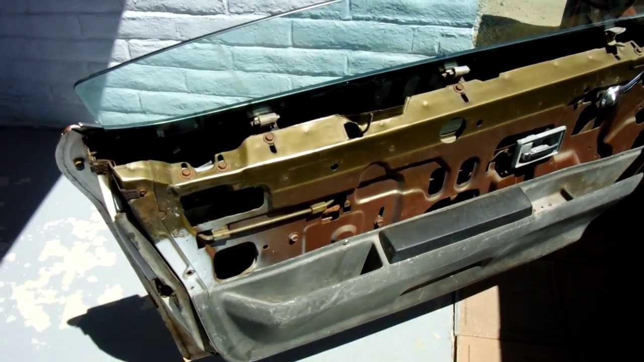 72 Camaro project low budget door panel part 1