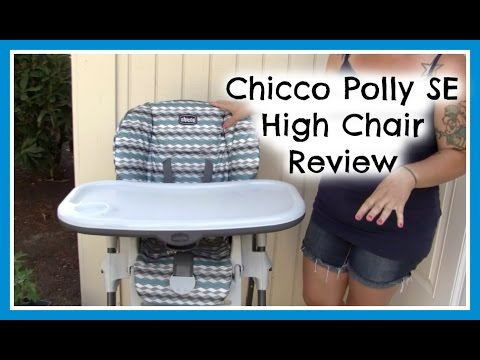 Chicco Polly SE High Chair Review  Just Dez  YouTube