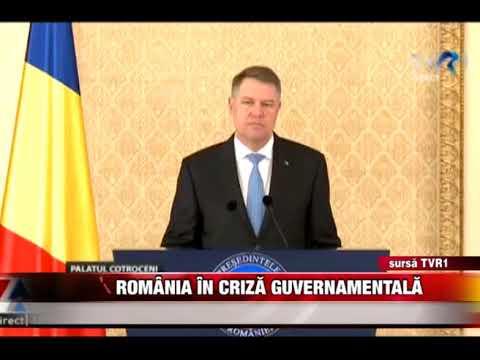 România în criză guvernamentală