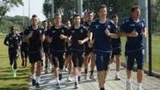 Entrainement Avant match Dijon-Angers