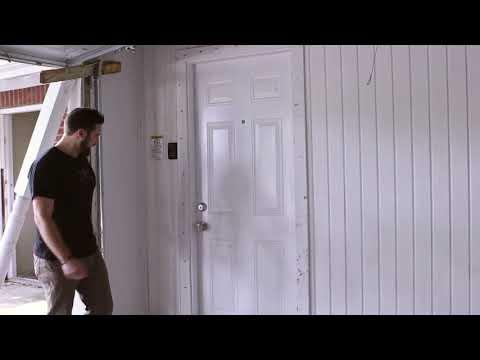 Burglar Proofed Front Door