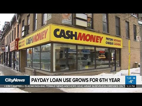Business Report: Payday Loan Use Grows For 6th Year In Ontario