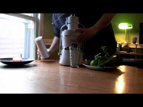 Jack LaLanne's Power Juicer Review and recipe