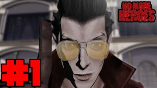 Let's Play No More Heroes (Wii) Part 1 - RATED M FOR REASON!