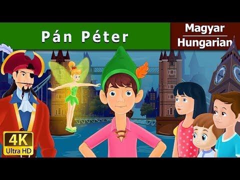 Peter Pan in Hungarian | Tündérmese | Esti mese | 4K UHD | Hungarian Fairy Tales letöltés