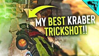 I hit this INSANE KRABER TRICKSHOT!! - Apex Legends