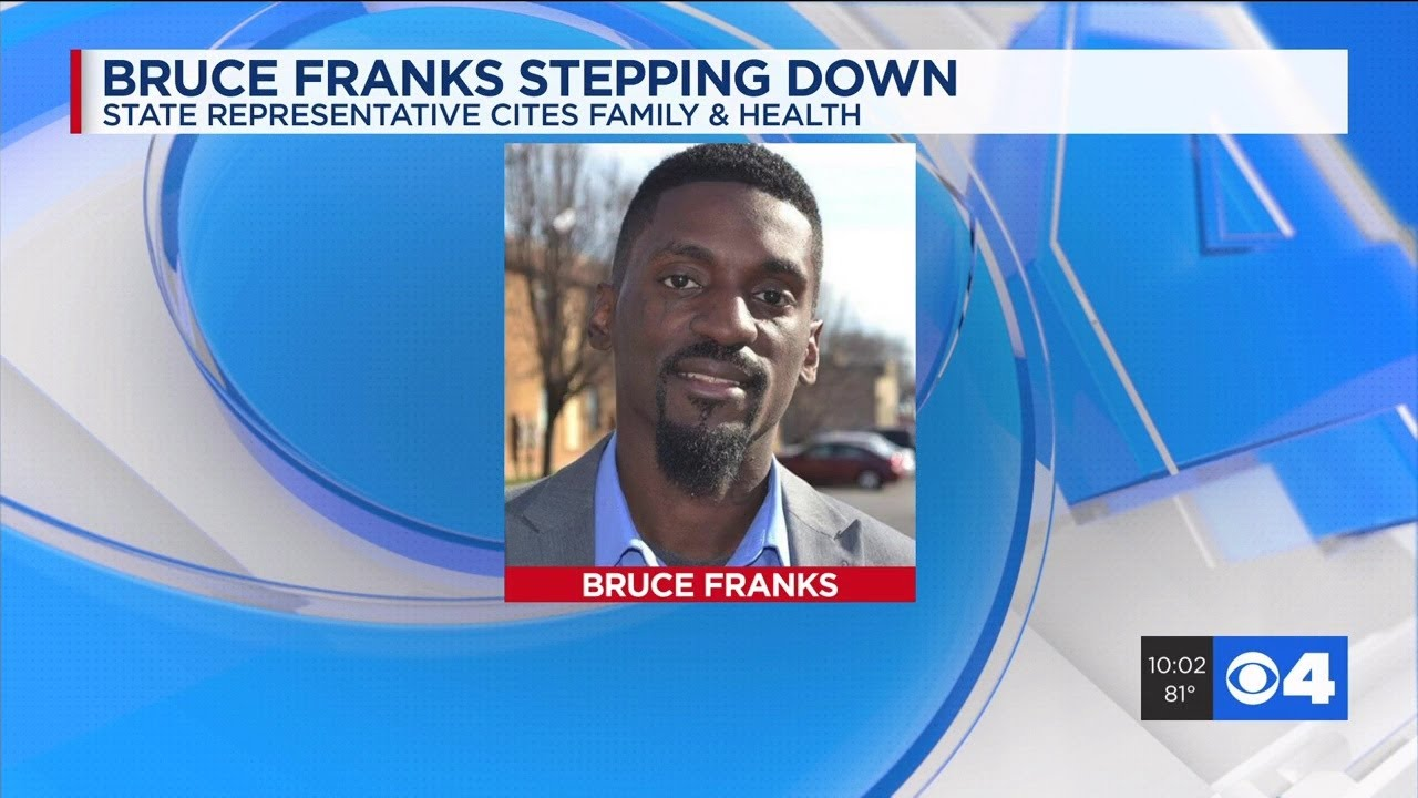 MISSOURI: BLACK STATE REP. BRUCE FRANKS RESIGNS