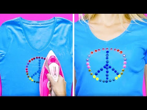 16 COLORFUL CLOTHING HACKS FOR KIDS