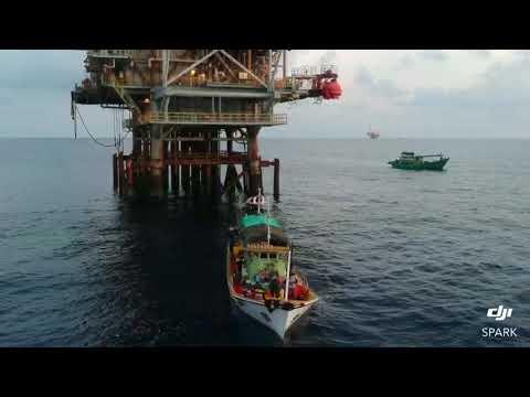 Dji spark oil rig seligi