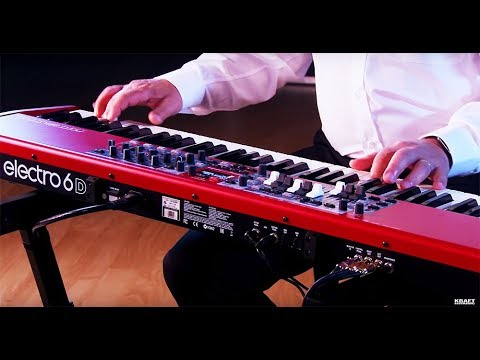 Nord Electro 6D All Playing, No Talking!