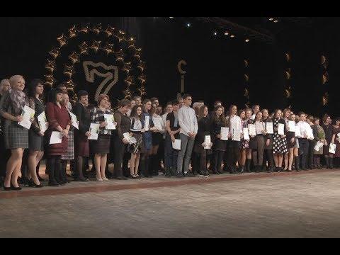 mistotvpoltava: «Листопад» – нагородження переможців олімпіад і переможців МАН