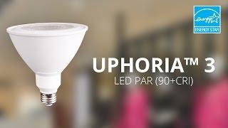 ushio energy star certified uphoria 3 led par 90 cri