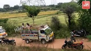 దిశ నిందితుల మృతదేహాలు ఎలా తీసుకెళ్తున్నారు చూడండి | Telangana News