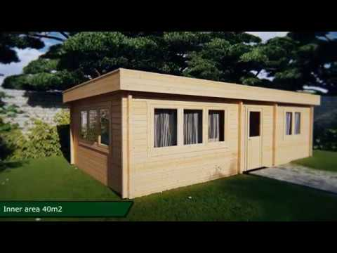 One Bedroom Log Cabin Holiday I 40m²
