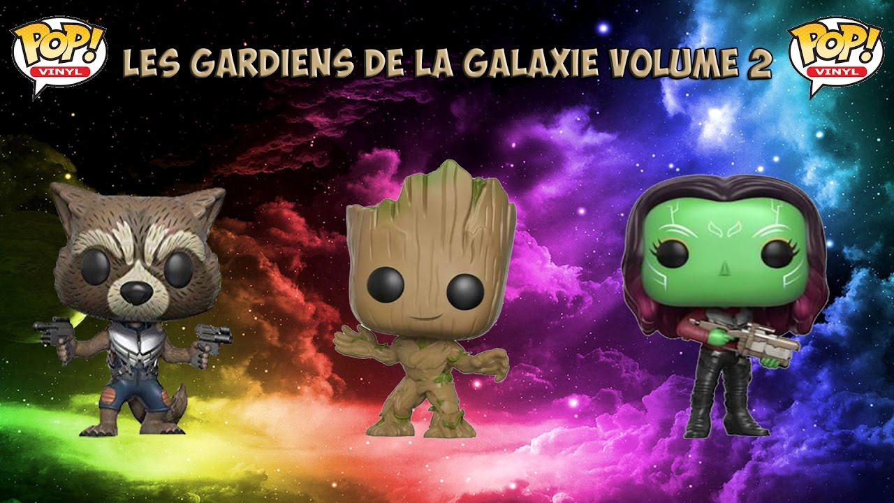 pr sentation funko pop les gardiens de la galaxie rocket youtube. Black Bedroom Furniture Sets. Home Design Ideas