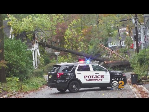 Severe Weather Causes Thousands Of Power Outages In New Jersey