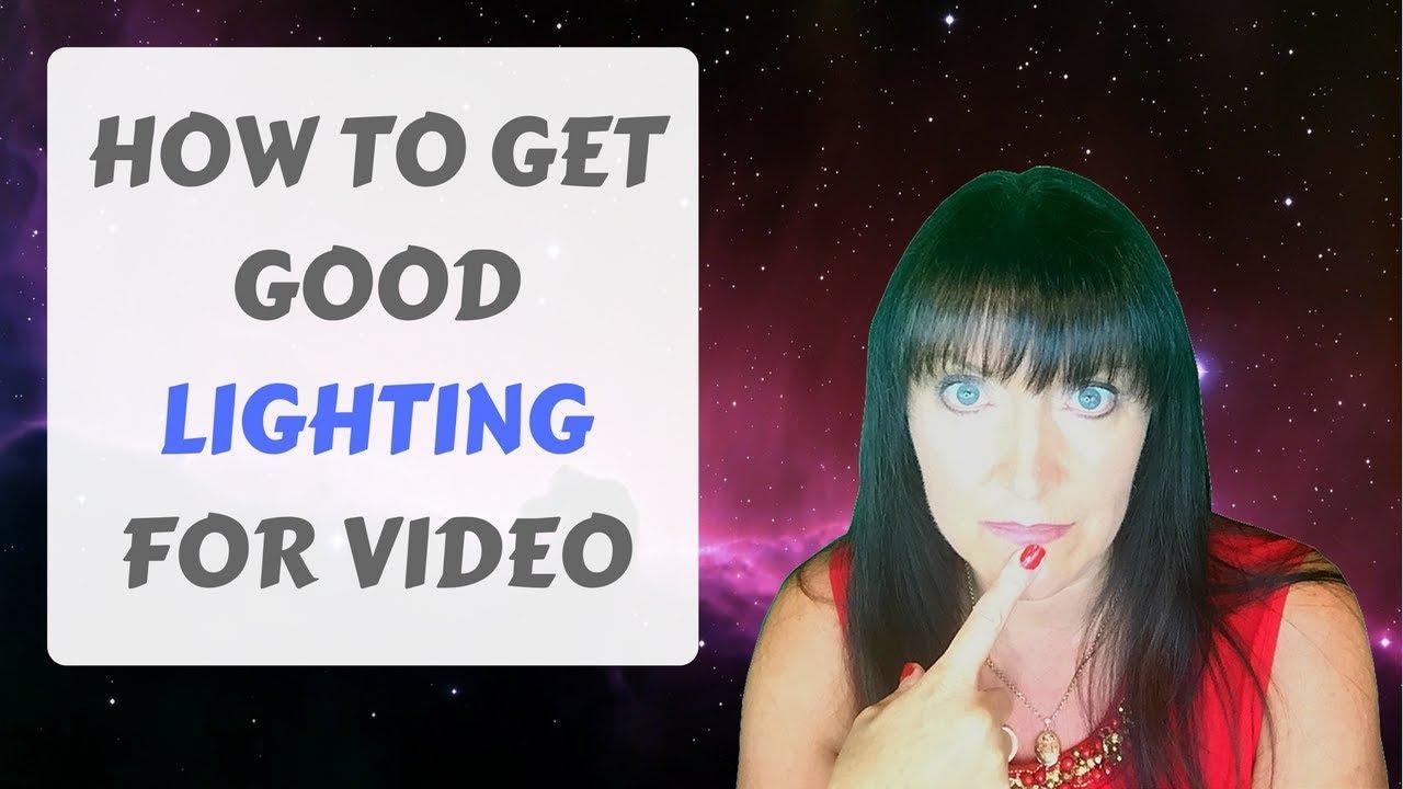 good lighting for video michelle eaton