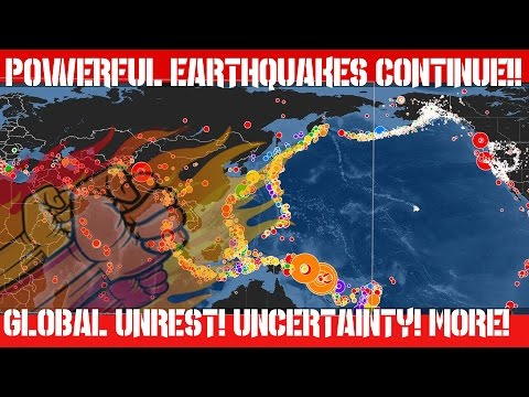 Earthquake Report | Sept 4, 2016 | Continued Unrest | Powerful Earthquakes Strike the Globe!