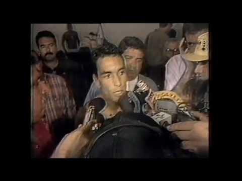 EDMUNDO EM REPORTAGEM DO MANCHETE ESPORTIVA (TV Manchete, 1994)