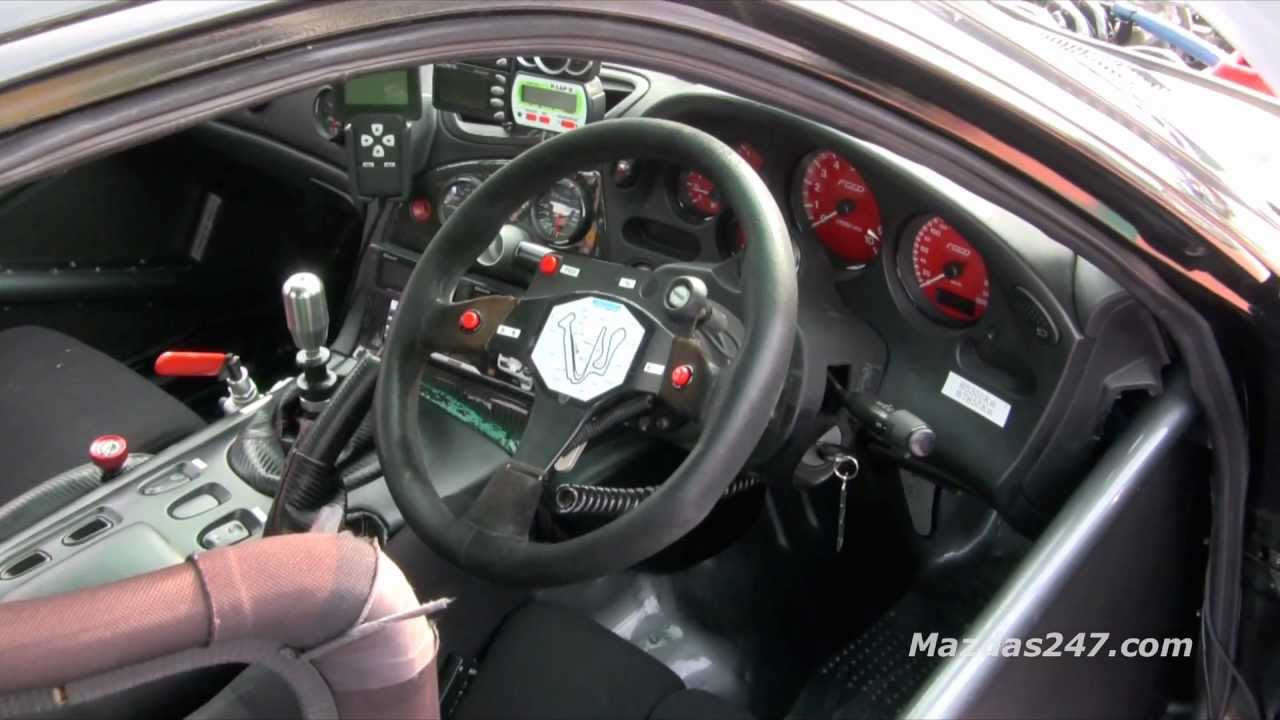 race spec mazda rx 7 interior mazdas247 youtube. Black Bedroom Furniture Sets. Home Design Ideas