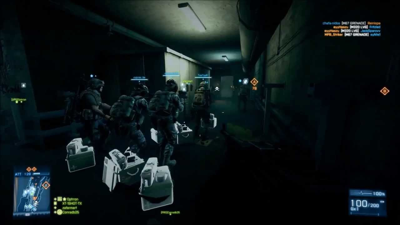 Battlefield 3 How Many People Can Fit In 1 Room