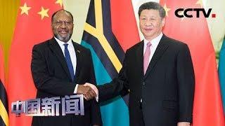 [中国新闻] 习近平会见瓦努阿图总理萨尔维 | CCTV中文国际
