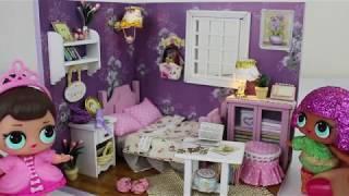 DIY L.O.L Bebek Evi Yaptım!! - Amerika'dan Minyatür Lol Bebek Odası Aldım!! - Bidünya Oyuncak