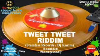 Tweet Tweet Riddim Mix [March 2012] Stainless Records / Dj Karim