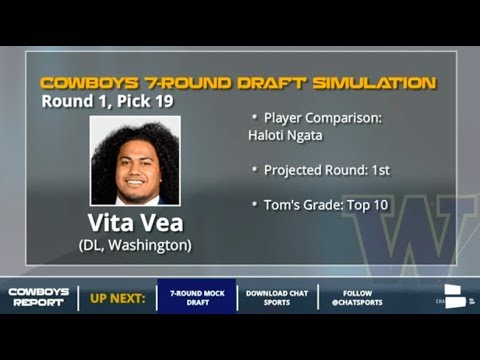 Dallas Cowboys 7-Round NFL Mock Draft For 2018